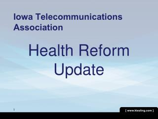 Iowa Telecommunications Association