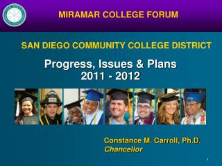 Progress, Issues & Plans 2011 - 2012