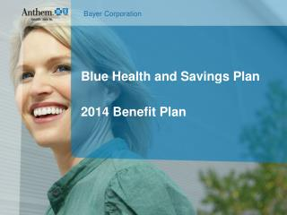 Blue Health and Savings Plan