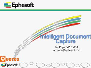 Intelligent Document Capture