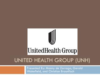 United Health Group (UNH)