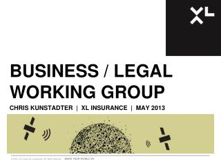 Business / Legal Working Group