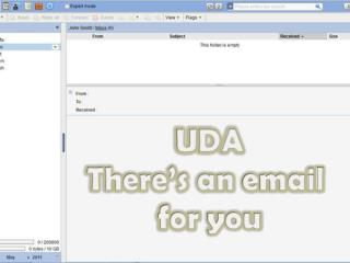 UDA There's an  email for you