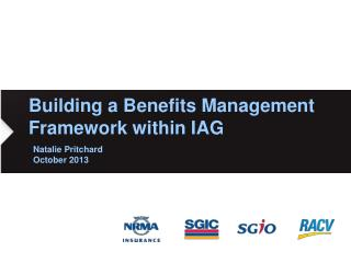 Building a Benefits Management Framework within IAG