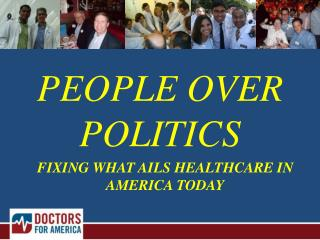 FIXING WHAT AILS HEALTHCARE IN AMERICA TODAY