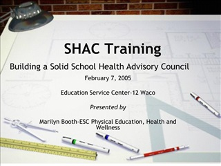 SHAC Training