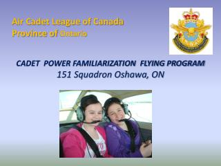 Air Cadet League of Canada Province of  Ontario
