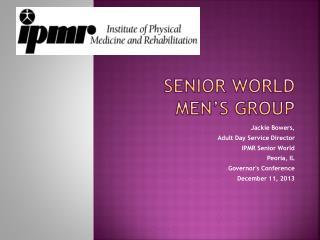 Senior World Men's Group