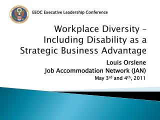 Workplace Diversity – Including Disability as a Strategic Business Advantage