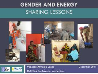 Gender and Energy Sharing lessons