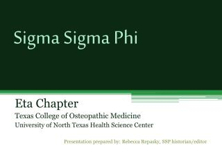 Sigma Sigma Phi