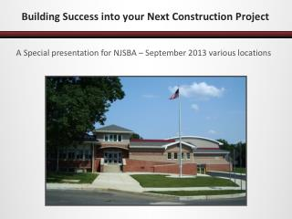 Building Success into your Next Construction  Project