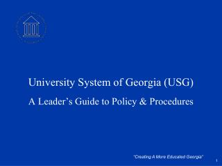 University System of Georgia (USG)
