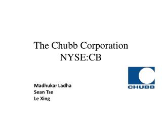 The Chubb Corporation  NYSE:CB