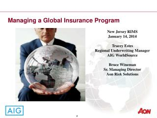 Managing a Global Insurance Program