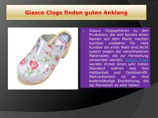 Giasco Clogs