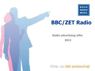 Radio advertising offer  2013