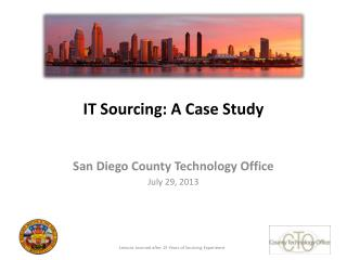 IT Sourcing: A Case Study