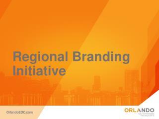 Regional Branding Initiative