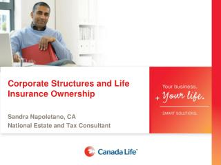 Corporate Structures  and  Life Insurance Ownership