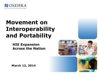 Movement on Interoperability and Portability