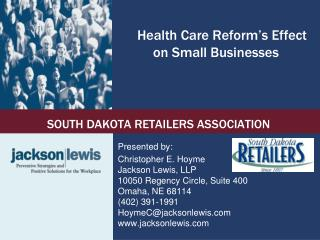 Health Care Reform's Effect on Small Businesses