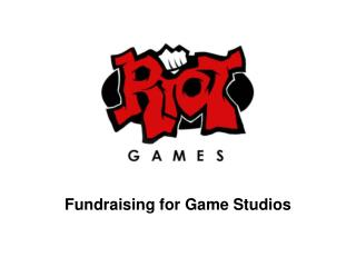 Fundraising for Game Studios