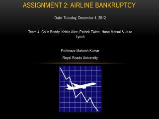 Assignment 2: Airline Bankruptcy