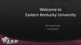 Welcome to Eastern Kentucky University