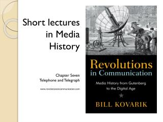 Short lectures in Media History