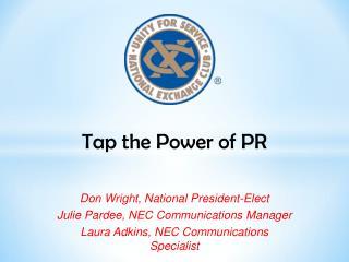 Tap the Power of PR