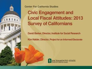 Center For California Studies