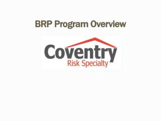 BRP Program Overview  Presentation