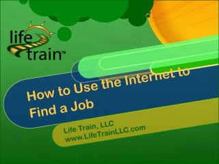 How to Use the Internet to  Find a Job