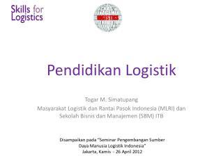 Pendidikan Logistik