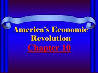 America�s Economic Revolution