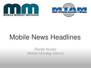 Mobile News Headlines