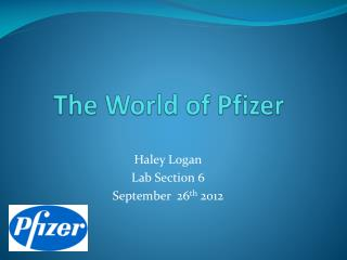 The World of Pfizer