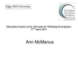 Ann McManus