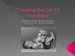 Choosing The Sex Of  Your Baby