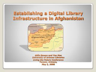 Afghan Academic Library Initiatives