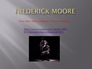 Frederick Moore