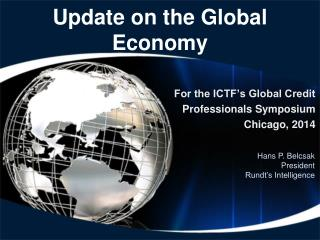 Update on the Global Economy