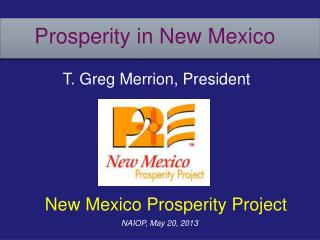 Prosperity in New Mexico