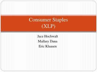 Consumer Staples (XLP)