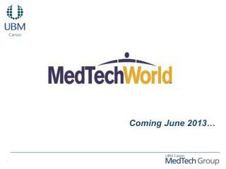 Coming June 2013…