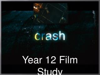 Year 12 Film Study