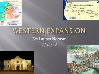 Western Expansion