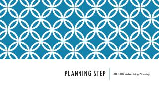 Planning STEP