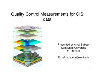 Quality Control Measurements for GIS data